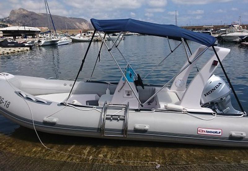 Alquiler BOTE  520 en Albir, barcos y embarcaciones de alquiler en portosenso