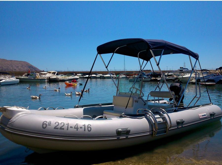 alquiler barco sin licencia, en Altea, Calpe, Benidorm, Moraira, Campomanes, Denia, Javea, Villajoyosa, Albir